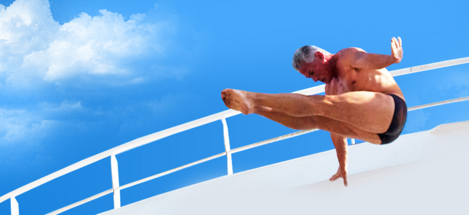 Royal Deck-athlon - Greg Louganis