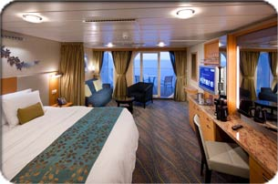 Royal Caribbean Cruise Ship - Junior Suite