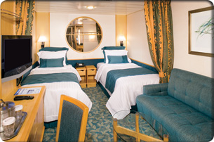 Royal Caribbean Cruise Ship - Interior Room