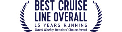 Best Cruise Line Overall - Travel Weekly