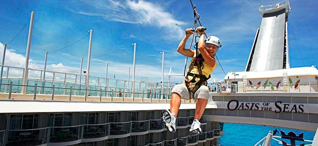 Zipline - Best Royal Caribbean Ship