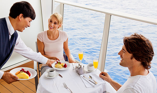 Royal Caribbean Upgrades