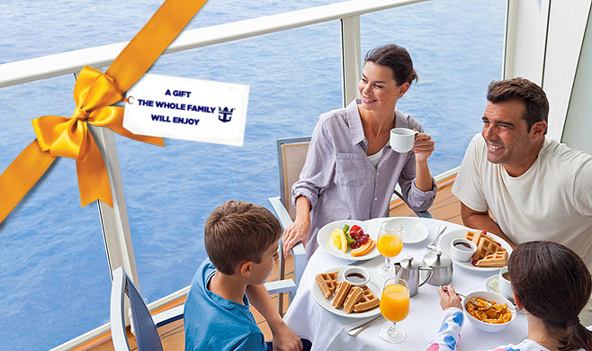 This Holiday Give The Gift Of A Cruise Royal Caribbean