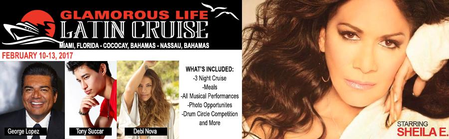 Glamorous Life Latin Cruise Banner
