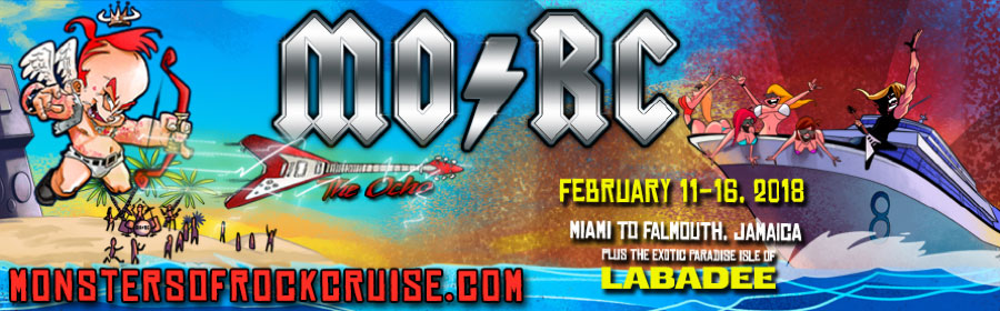 MONSTERS OF ROCK CRUISE presented by On the Blue, Inc.