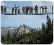 Klondike Summit, Yukon Suspension Bridge & Gold Secrets