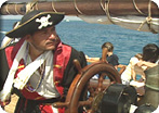 Cayman Pirate Encounter