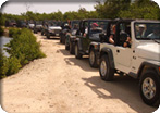 Cayman Jeep Wrangler Adventure & Beach Snorkel