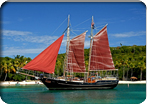 Caribbean Sail to Christmas & Honeymoon Coves