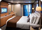 Two Bedroom AquaTheater Suite with Balcony - Deck 10