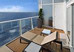 Accessible Crown Loft Balcony Suite