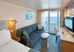 Superior Ocean View Stateroom with Balcony - Large Balcony