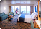Accessible Superior Ocean View Stateroom with Balcony