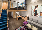 Accessible Crown Loft Balcony Suite