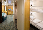 Family Interior Stateroom