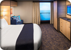 Accessible Interior Stateroom with Virtual Balcony
