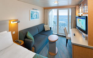 Superior Ocean View Stateroom  Oasis Of The Seas Rooms