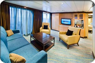Royal Family Suite with  Oasis Of The Seas Presidential Suite