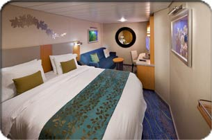 Smaller Interior Stateroom  Oasis Of The Seas Interior Stateroom