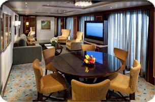 Presidential Family Suite with  Oasis Of The Seas Presidential Suite