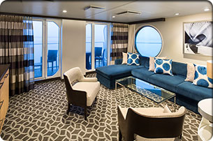 Sky Class - Royal Family Balcony Suite