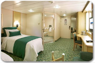 Accessible Large Inside Stateroom