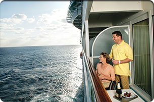 Accessible Family Ocean View Stateroom w/Balcony
