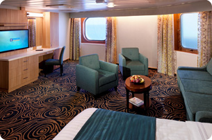 Superior Family Ocean View Stateroom