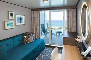 Superior Ocean View Stateroom With Large Balcony On