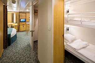 Family Interior Stateroom On Liberty Of The Seas Royal Caribbean International