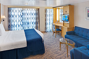 Accessible Deluxe Ocean View Stateroom with Balcony