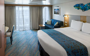 Accessible Central Park View Stateroom with Balcony