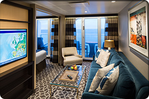 Sky Class - Grand Balcony Suite