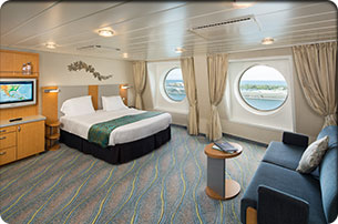 family ocean view stateroom on harmony of the seas royal