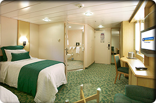 Accessible Family Interior Stateroom