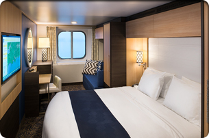 Ocean View Connected Stateroom
