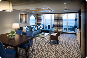 Owner's Suite with Balcony
