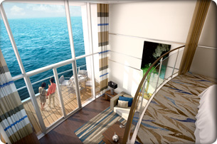 Royal Caribbean International Owner S Loft Suite With
