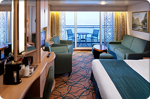 junior suite on vision of the seas   royal caribbean
