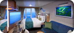 Superior Oceanview Stateroom with Large Balcony