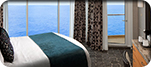 One Bedroom AquaTheater Suite with Balcony - Deck 14