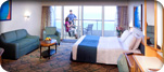 Accessible Balcony Stateroom