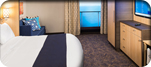 Accesible Interior Stateroom with Virtual Balcony