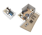 Sky Loft Suite - First Floor