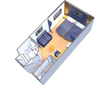 Dave Koz Cruise Interior Cabin