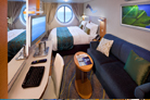Oasis of the Seas Outside Stateroom