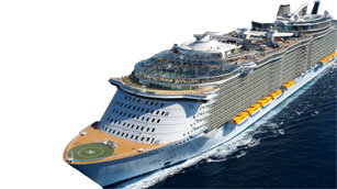 Our Of The SeasSM Fleet Meet Royal Caribbeans Ships Royal - The oasis cruise ship