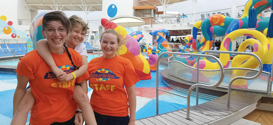 Autism friendly Adventure Ocean program