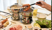 Hot Pot at Solarium Bistro