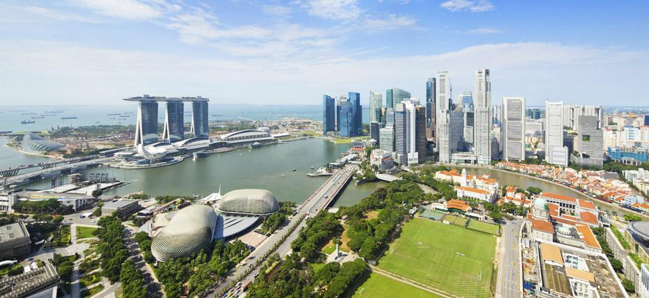 Singapour Plan Centre Ville